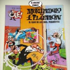Cómics: OLÉ! Nº 90, MORTADELO Y FILEMON, IMPECABLE, B, FORMATO GRANDE, EL CASO DE LOS SRES PEQUEÑITOS. Lote 182980515
