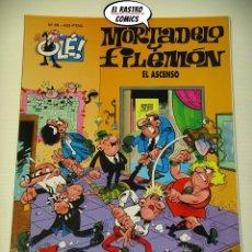 Cómics: OLÉ! Nº 88, MORTADELO Y FILEMON, IMPECABLE, B, FORMATO GRANDE, EL ASCENSO. Lote 182990493