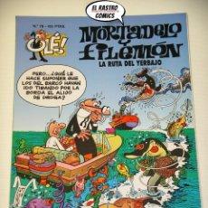 Cómics: OLÉ! Nº 78, MORTADELO Y FILEMON, IMPECABLE, B, FORMATO GRANDE, LA RUTA DEL YERBAJO. Lote 182990940