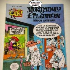 Cómics: OLÉ! Nº 46, MORTADELO Y FILEMON, IMPECABLE, B, FORMATO GRANDE, CLINICAS ANTIBIRRIA. Lote 182992103