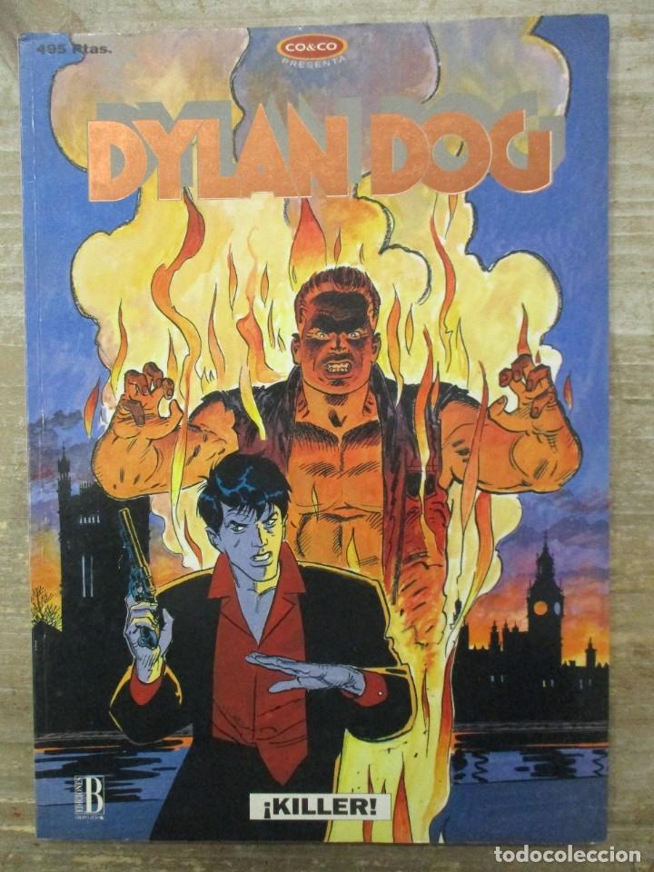 DYLAN DOG - KILLER - Nº 5 - EDICIONES B - CO&CO (Tebeos y Comics - Ediciones B - Otros)