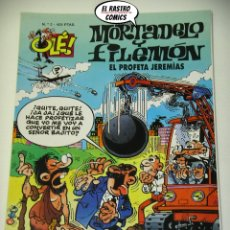 Cómics: OLÉ! Nº 2, MORTADELO Y FILEMON, IMPECABLE, B, FORMATO GRANDE, EL PROFETA JEREMIAS. Lote 182996668