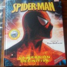 Cómics: SPIDER-MAN LA VERSIÓN DEFINITIVA.VERSIÓN AMPLIADA.LIBRO GRAN FORMATO TAPA DURA.EDICIONES B.. Lote 183036907