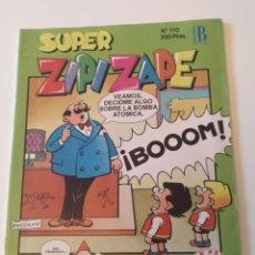 Cómics: REVISTA SUPER ZIPI Y ZAPE 110 (EDICIONES B). Lote 183227123