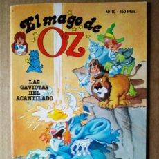 Cómics: EL MAGO DE OZ N°10: LAS GAVIOTAS DEL ACANTILADO (TEBEOS S.A., 1989). ANIMAX/ROMAGOSA/EDICIONES B. Lote 183289200