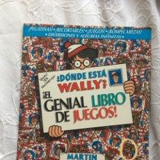 Cómics: ¿DONDE ESTA WALLY?EL GENIAL LIBRO DE JUEGOS-MARTIN HANDFORD. Lote 183293733