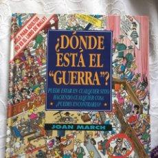 Cómics: ¿DÓNDE ESTÁ EL GUERRA?. Lote 183293828