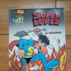 Cómics: SUPER LÓPEZ Nº 28 - EL INFIERNO - BUEN ESTADO. Lote 183654587