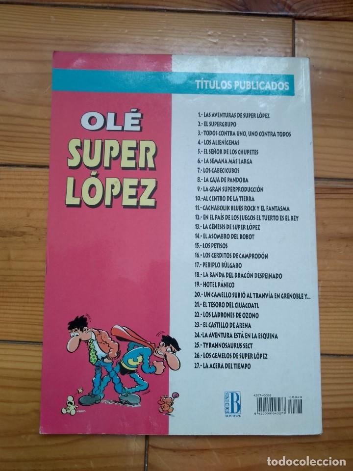Cómics: Super López nº 28 - El Infierno - Buen estado - Foto 5 - 183654587
