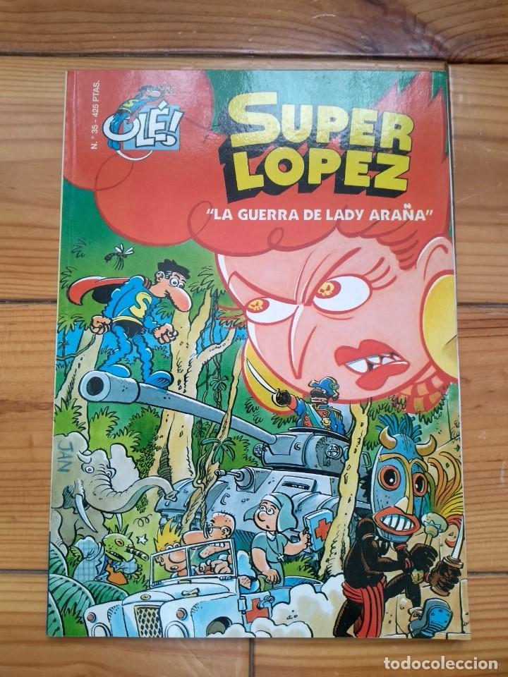 SUPER LÓPEZ Nº 35 - BUEN ESTADO - D1 (Tebeos y Comics - Ediciones B - Clásicos Españoles)