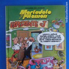 Comics : COMIC DE GRANDES DEL HUMOR MORTADELO Y FILEMON EXPEDIENTE J AÑO 1997 Nº 3 DE EDICIONES B LOTE 28. Lote 183895266