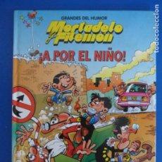Cómics: COMIC DE GRANDES DEL HUMOR MORTADELO Y FILEMON A POR EL NIÑO AÑO 1997 Nº 9 DE EDICIONES B LOTE 28. Lote 183896727
