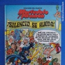 Cómics: COMIC GRANDES DEL HUMOR MORTADELO Y FILEMON SILENCIO SE RUEDA AÑO 1997 Nº 8 DE EDICIONES B LOTE 28. Lote 183896866