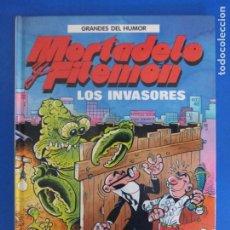 Cómics: COMIC DE GRANDES DEL HUMOR MORTADELO Y FILEMON LOS INVASORES AÑO 1997 Nº 4 DE EDICIONES B LOTE 28. Lote 183897157