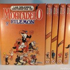 Cómics: LAS MEJORES HISTORIAS DE MORTADELO Y FILEMÓN. 5 TOMOS. COMPLETA. 1987. EDICIONES B.. Lote 184006406