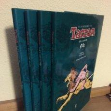 Cómics: TARZÁN COMPLETA 4 TOMOS - EDICIONES B 1994 - HAL FOSTER - ¡NUEVA!. Lote 184213288