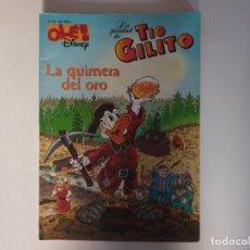 Cómics: OLE DISNEY TIO GILITO N. 33 ED.ZETA 1.ED.05-1997. Lote 184356558