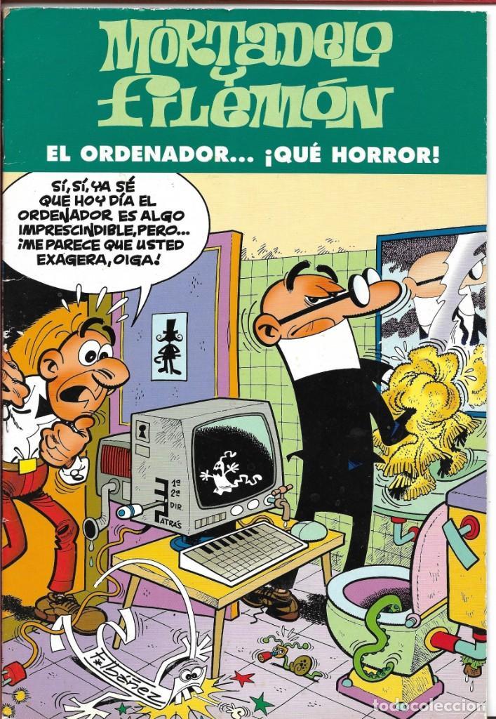MORTADELO Y FILEMÓN....¡EL ORDENADOR ..QUE HORROR! - FRANCISCO IBAÑEZ 2003 - EDICIONES B, S.A (Tebeos y Comics - Ediciones B - Clásicos Españoles)