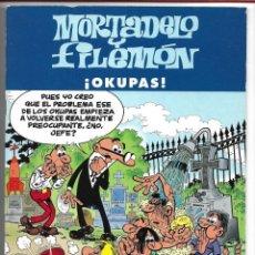 Cómics: MORTADELO Y FILEMÓN....¡OKUPAS! - FRANCISCO IBAÑEZ 2003 - EDICIONES B, S.A. Lote 184434463