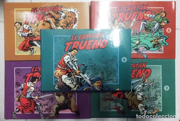 EL CAPITAN TRUENO TOMOS 2 A 6 FACSÍMIL. EDICIÓN AÑO 2003 (Tebeos y Comics - Ediciones B - Clásicos Españoles)