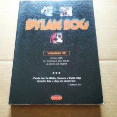 Comics: DYLAN DOG VOLUMEN III: CANAL 666/EL CASTILLO DEL MIEDO/LA DAMA DE NEGRO (EDICIONES B/LIBROS CO&CO).. Lote 204141382