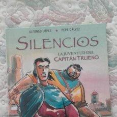Cómics: SILENCIOS. LA JUVENTUD DEL CAPITAN TRUENO, DE PEPE GALVEZ Y ALFONSO LOPEZ. Lote 184708810