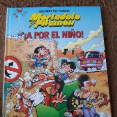 Cómics: TEBEOS-CÓMICS CANDY - GRANDES DEL HUMOR 9 - A POR EL NIÑO - AA99. Lote 184862943