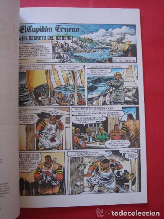 Cómics: EL CAPITÁN TRUENO Nº 4 (DE 6) EL SECRETO DEL ICEBERG. AUT. MORA Y FUENTES MAN. EDICIONES B, AÑO 2003 - Foto 2 - 185752225