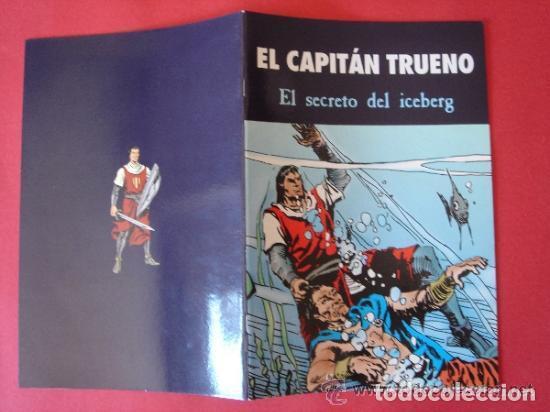 Cómics: EL CAPITÁN TRUENO Nº 4 (DE 6) EL SECRETO DEL ICEBERG. AUT. MORA Y FUENTES MAN. EDICIONES B, AÑO 2003 - Foto 3 - 185752225