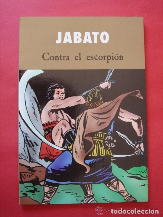 JABATO Nº 4 (DE 4) CONTRA EL ESCORPIÓN. AUTOR, VÍCTOR MORA. EDICIONES B, AÑO 2003. VER FOTOS. (Tebeos y Comics - Ediciones B - Clásicos Españoles)
