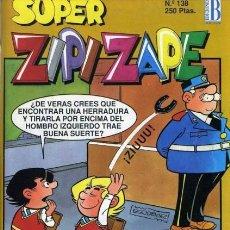 Comics : ZIPI Y ZAPE SUPER- Nº 138 -DELIRANTA DE M. SCHMIDT-MONTSE-ROQUITA-PEQUEÑO VAMPIRO-1993-DIFICIL-2471. Lote 185921038
