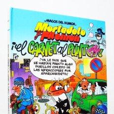Cómics: MORTADELO Y FILEMÓN ¡EL CARNET AL PUNTO! (1ª ED: 2005) FRANCISCO IBÁÑEZ, EDICIONES B MAGOS DEL HUMOR. Lote 186188622