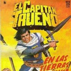 Cómics: EL CAPITÁN TRUENO-EDICIÓN HISTÓRICA- Nº 4 -GRAN AMBRÓS-1987-MUY DIFICIL-MUY BUENO-LEAN-2492. Lote 186258930