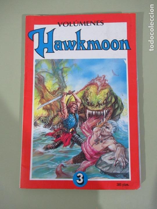 HAWKMOON TOMO RETAPADO Nº 3 INCLUYE LOS Nº 9 AL 11 - TEBEOS SA (Tebeos y Comics - Ediciones B - Otros)