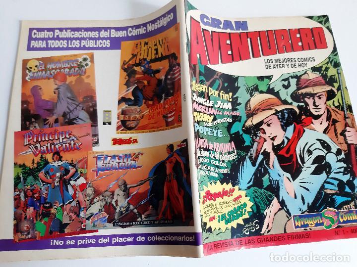 Cómics: GRAN AVENTURERO - 3 ENTREGAS: 1, 2 Y 3 - LOS MEJORES COMICS DE HOY - Foto 5 - 186319045