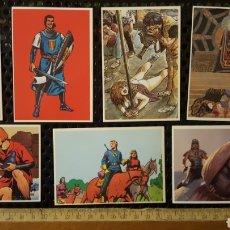 Cómics: LOTE CARTAS PROMOCIONALES - EDICIONES B - CAPITAN TRUENO, PRINCIPE VALIENTE, FLASH GORDON, AKIRA. Lote 186434493