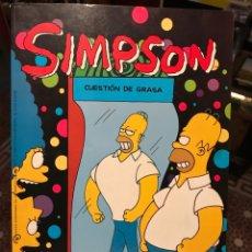 Fumetti: SIMPSON TIPO OLE CUESTION DE GRASA MATT GROENING SIMPSONS. Lote 186450096