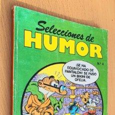 Cómics: SELECCIONES DE HUMOR NUMERO 4 MORTADELO Y FILEMON, ZIPI Y ZAPE, SUPER LOPEZ. Lote 187445936