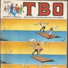 Cómics: TBO - Nº 42 DE 105 - 1992 - GRUPO ZETA : EDICIONES B, S. A.-. Lote 188513206