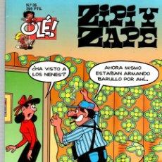 Cómics: ZIPI Y ZAPE. Nº 35. EDICIONES B, 1998. Lote 189732856