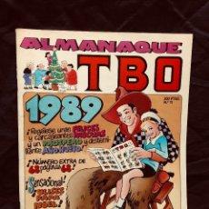 Cómics: ALMANAQUE TBO Nº 11 AÑO 1989 EDICIONES B INCLUYE 4 POSTALES NAVIDAD. Lote 189822048
