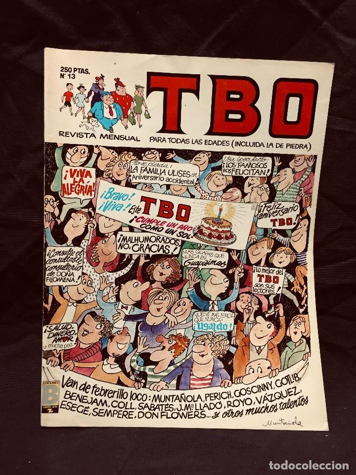 ALMANAQUE TBO Nº 13 AÑO 1989 EDICIONES B REVISTA SEMANAL (Tebeos y Comics - Ediciones B - Humor)