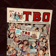 Cómics: ALMANAQUE TBO Nº 13 AÑO 1989 EDICIONES B REVISTA SEMANAL. Lote 189822280