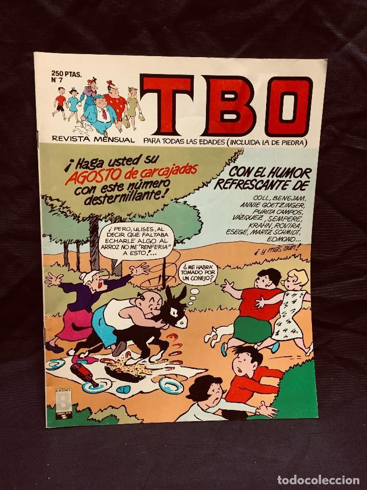 ALMANAQUE TBO Nº 7 AÑO 1988 EDICIONES B REVISTA MENSUAL (Tebeos y Comics - Ediciones B - Humor)