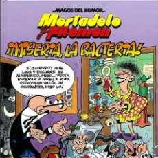Cómics: COL MAGOS DEL HUMOR Nº 172 - MORTADELO Y FILEMON - MISERIA LA BACTERIA - EDICIONES B 2017 1ª EDICION. Lote 189892580