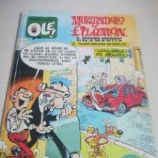 Cómics: MORTADELO Y FILEMÓN - EL TRANSFORMADOR METABÓLICO - OLÉ Nº 182 F. IBAÑEZ - EDICIONES B. REF. GAR 234. Lote 189984842