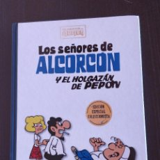 Comics: ESPECIAL COLECCIONISTA LOS SEÑORES DE ALCORCÓN Y EL HOLGAZÁN PEPÓN CLASICOS DEL HUMOR; TAPA DURA. Lote 243337170