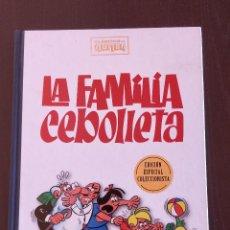 Cómics: ESPECIAL COLECCIONISTA LA FAMILIA CEBOLLETA CLASICOS DEL HUMOR; TAPA DURA RBA. Lote 190009103