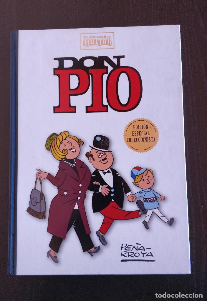 ESPECIAL COLECCIONISTA DON PIO CLASICOS DEL HUMOR; TAPA DURA RBA (Tebeos y Comics - Ediciones B - Humor)