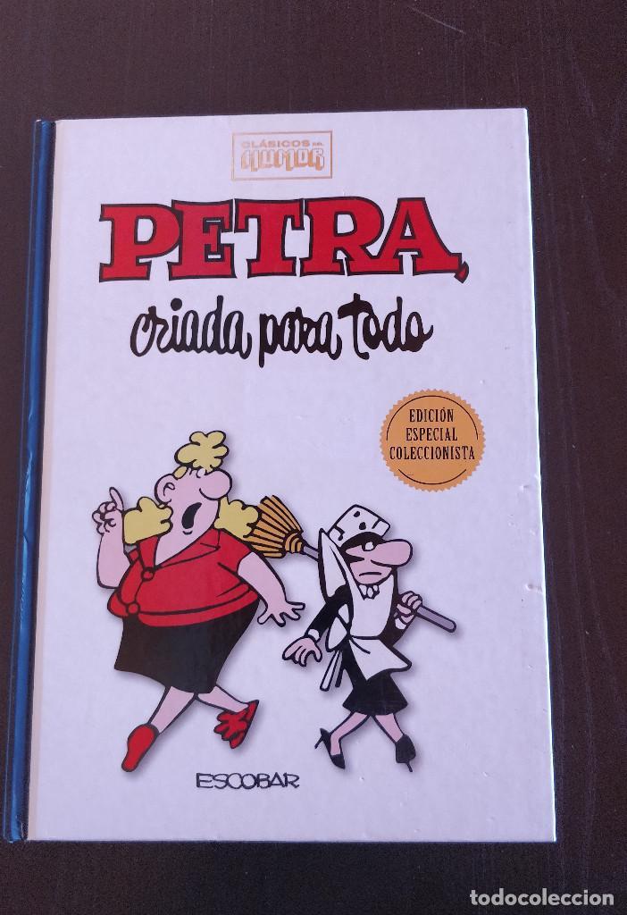 ESPECIAL COLECCIONISTA PETRA CRIADA PARA TODO CLASICOS DEL HUMOR; TAPA DURA (Tebeos y Comics - Ediciones B - Humor)